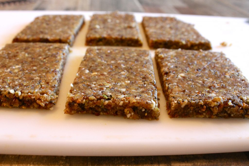 ... bars. They blend right in with the nuts and dried fruit, and add a