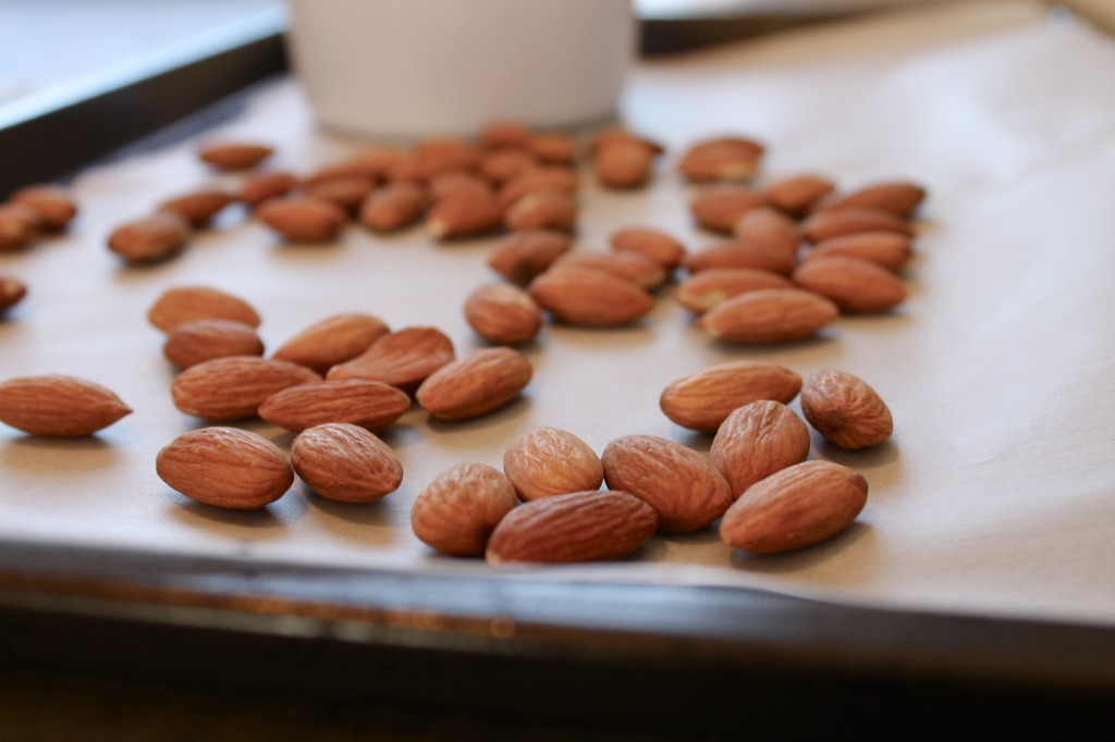 Spiced Roasted Almonds Recipe