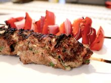 Juicy Grilled Ground Beef Kebabs (Kofta) ll www.littlechefbigappetite.com