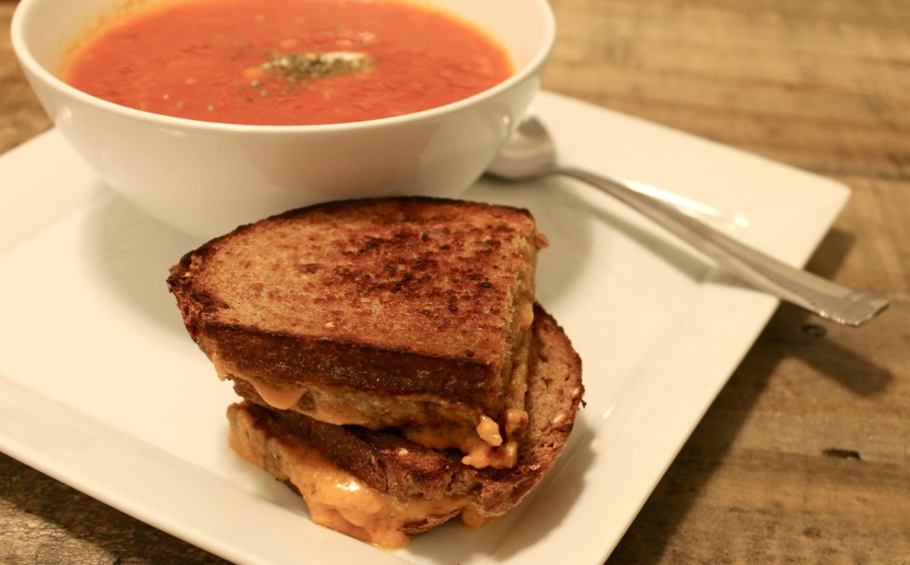 Homemade Roasted Tomato Soup Recipe