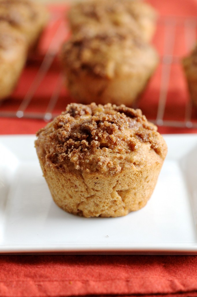 Whole Wheat Apple Honey Muffins Recipe