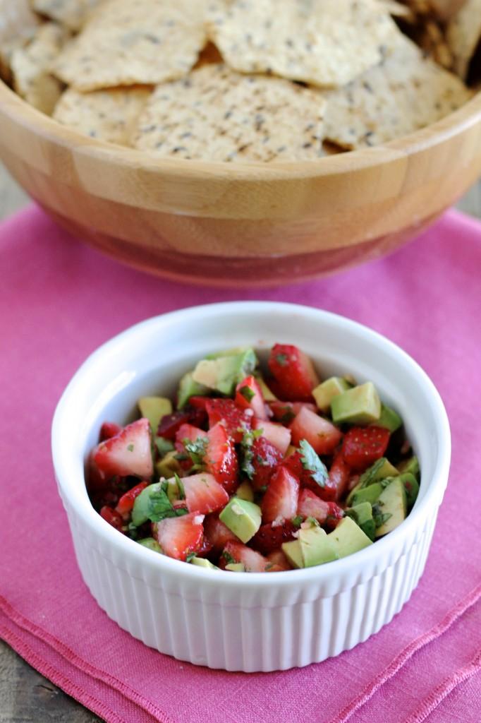 Strawberry and Avocado Salsa Recipe