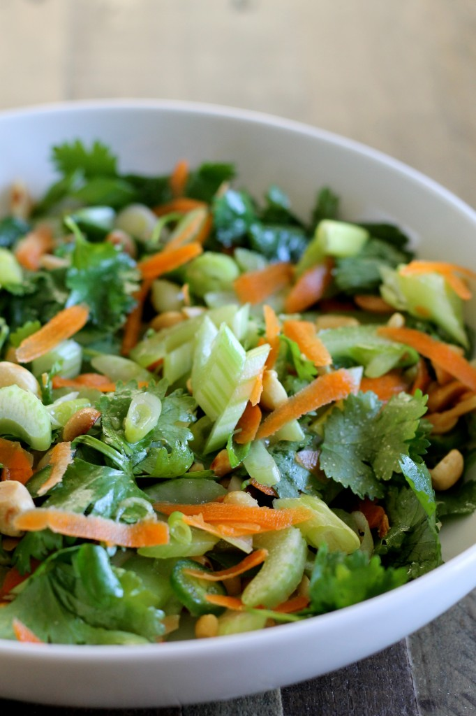 Thai Celery Salad Recipe - Little Chef Big Appetite