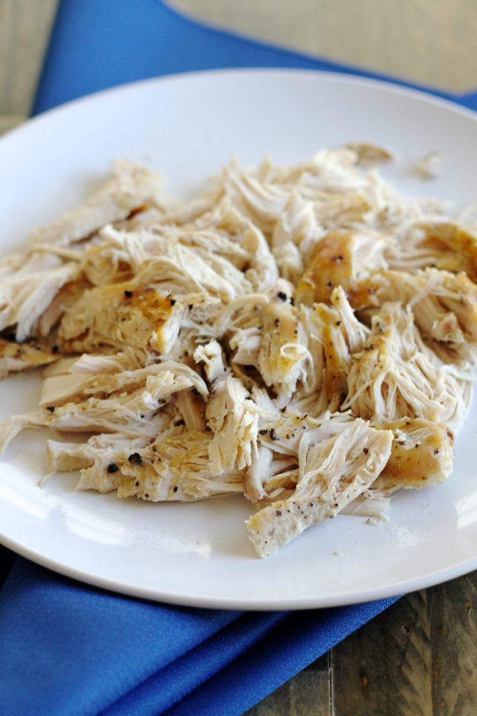 Easy Slow Cooker Shredded Chicken Recipe