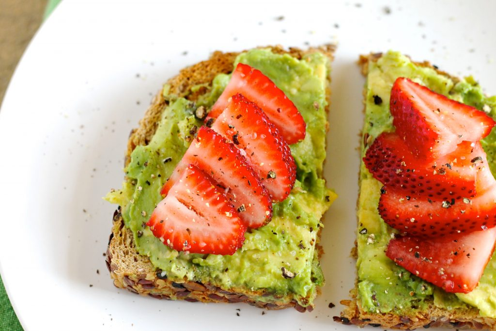 Avocado Toast with Strawberries Recipe
