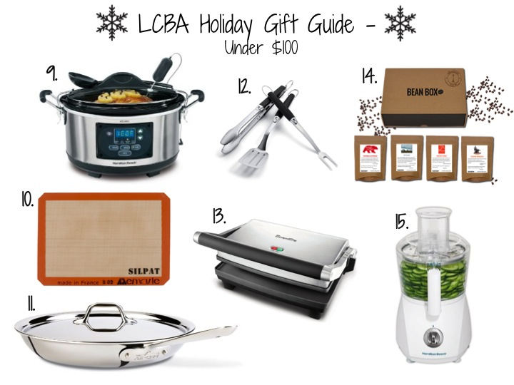 Little Chef Big Appetite Holiday Gift Guide - Under $100