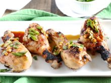 Sesame-Glazed Chicken Drumsticks - Healthy & Delicious - www.littlechefbigappetite.com