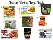 My Favorite Healthy Frozen Foods // www.littlechefbigappetite.com