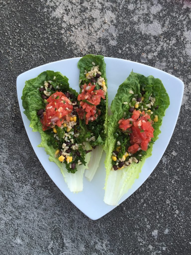 Black Bean and Corn Appetizer from Kacy at Healthy For Real