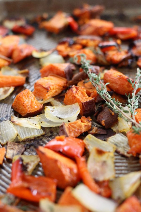 Perfectly Crispy Roasted Vegetables