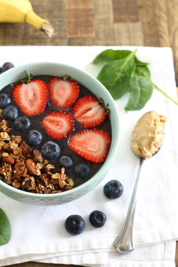 Protein Acai Bowl Recipe and a $100 Naked Nutrition Giveaway!