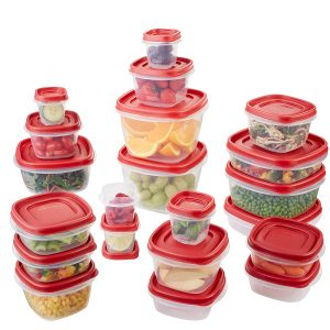 Rubbermaid 42-Piece Food Storage Containers -- What I'm Loving Lately July 2017 -- www.littlechefbigappetite.com