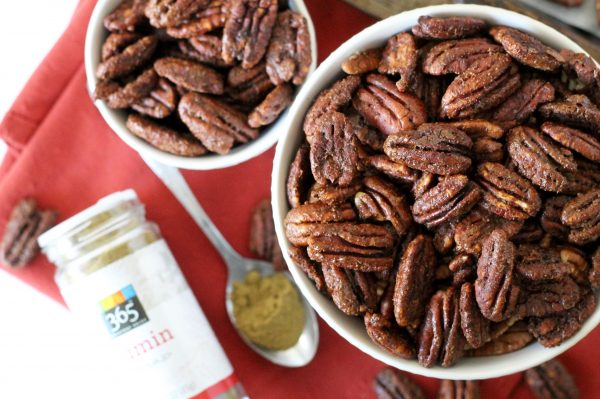 Holiday Spiced Pecans