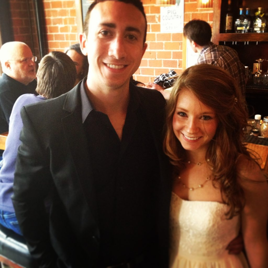 Travis Winkler and Rachel Pattison