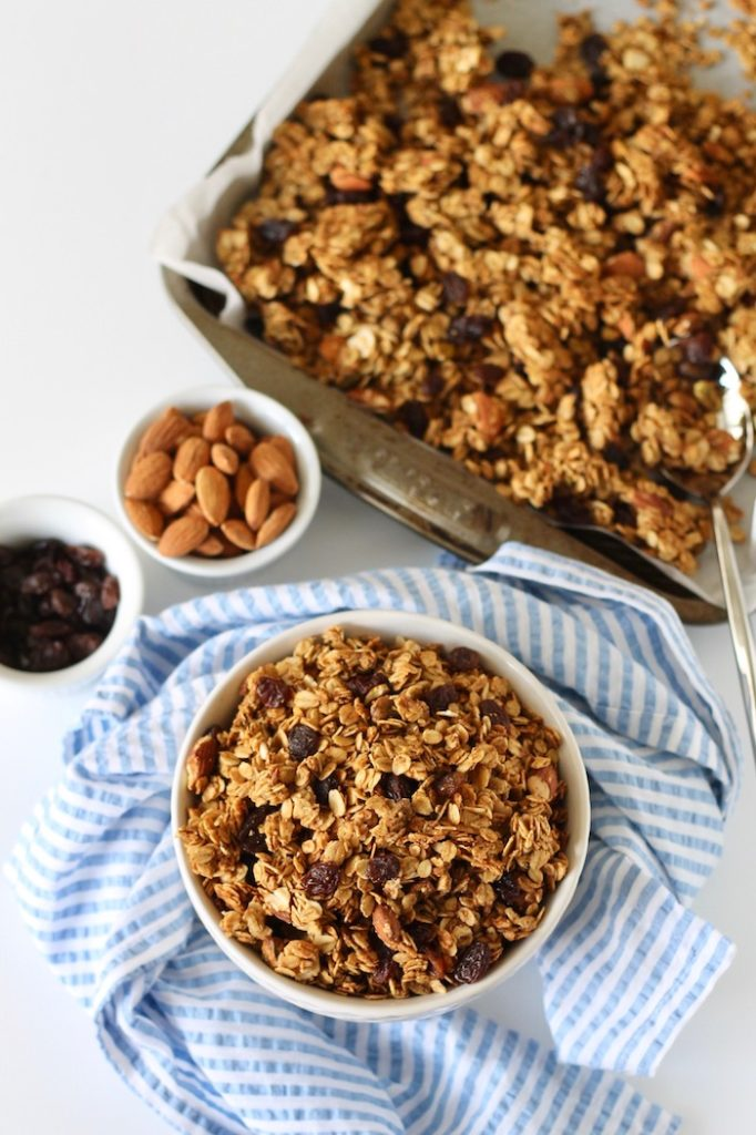 Cardamom Granola with Almonds and Pistachios | www.littlechefbigappetite.com 4