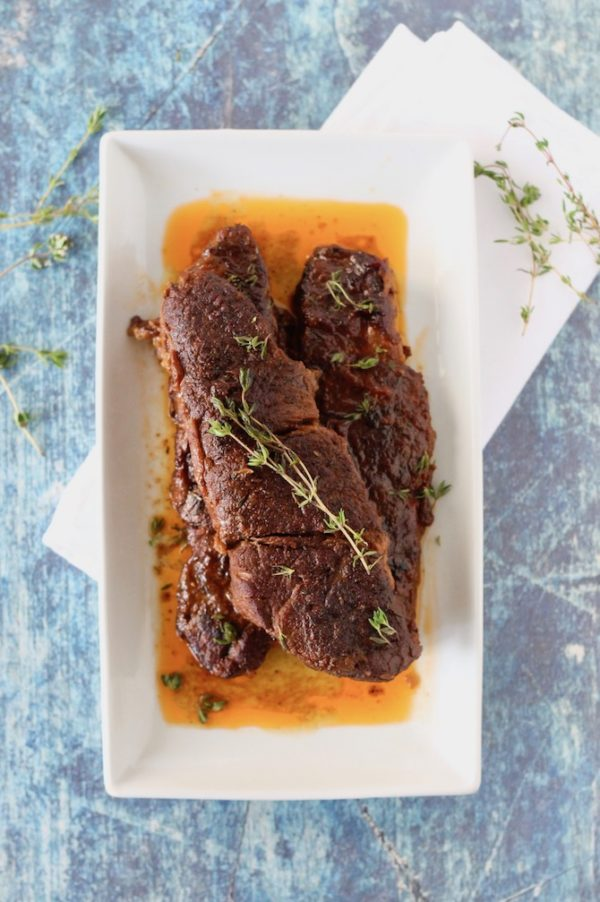 Delicious Slow Cooker Short Ribs