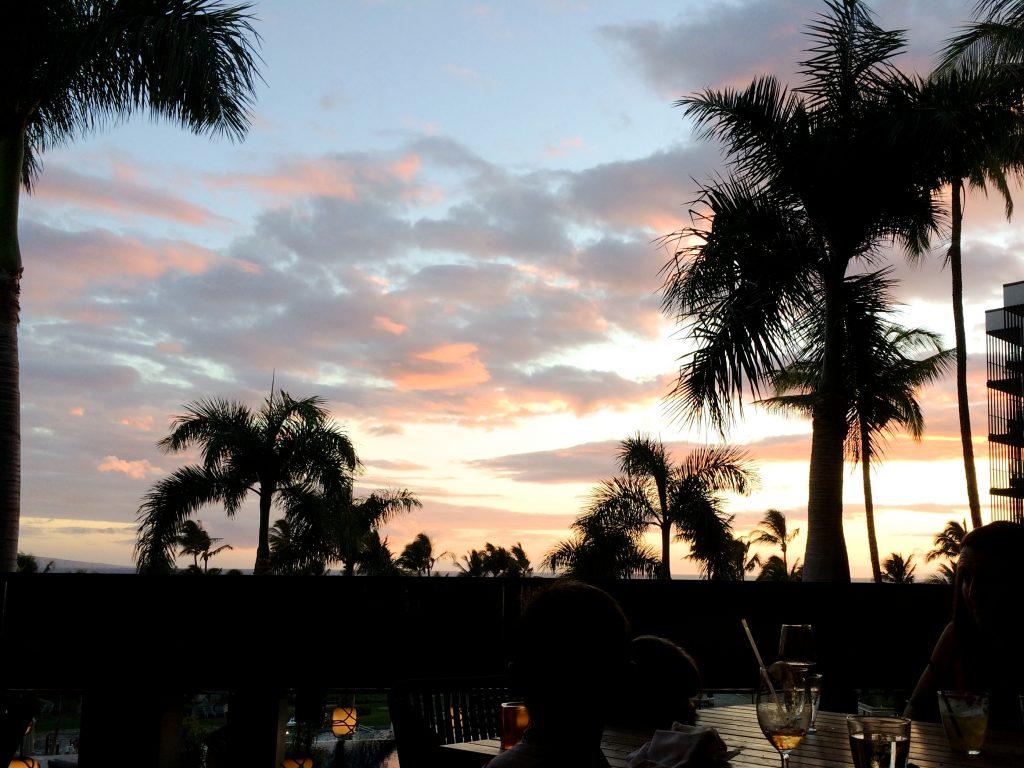 Watching Maui Hawaii Sunset | www.littlechefbigappetite.com