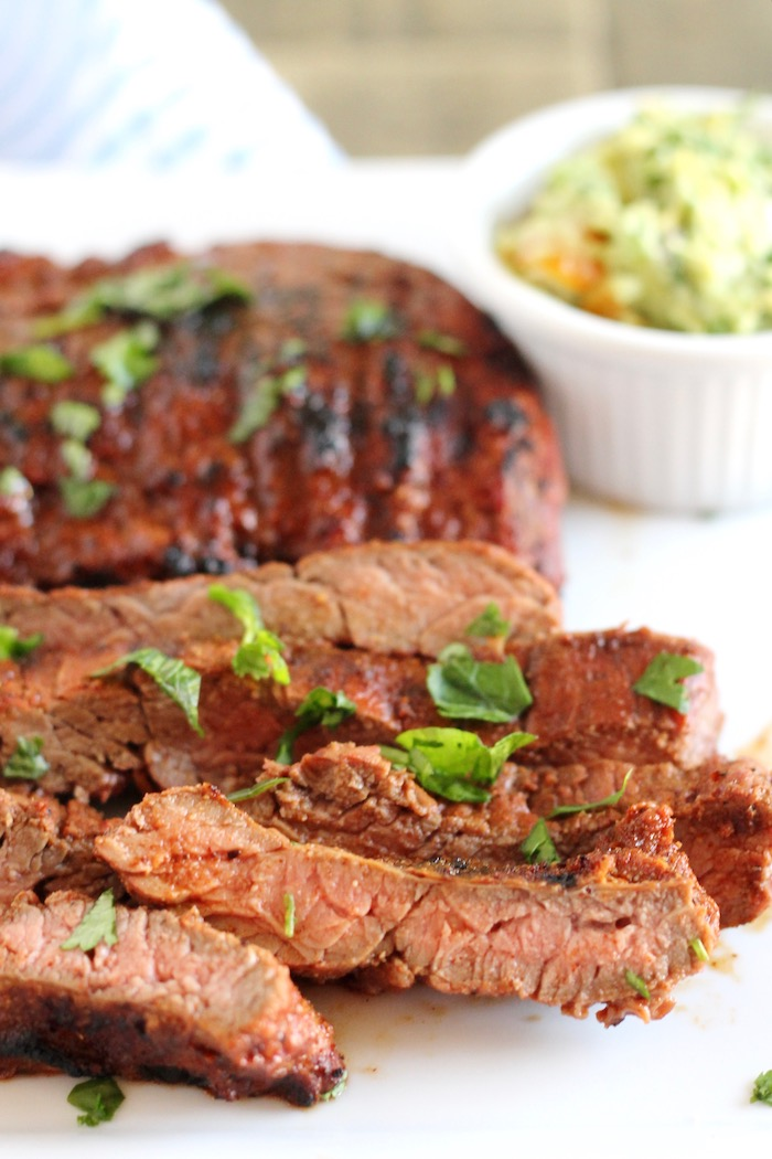 The Best Grilled Skirt Steak Marinade