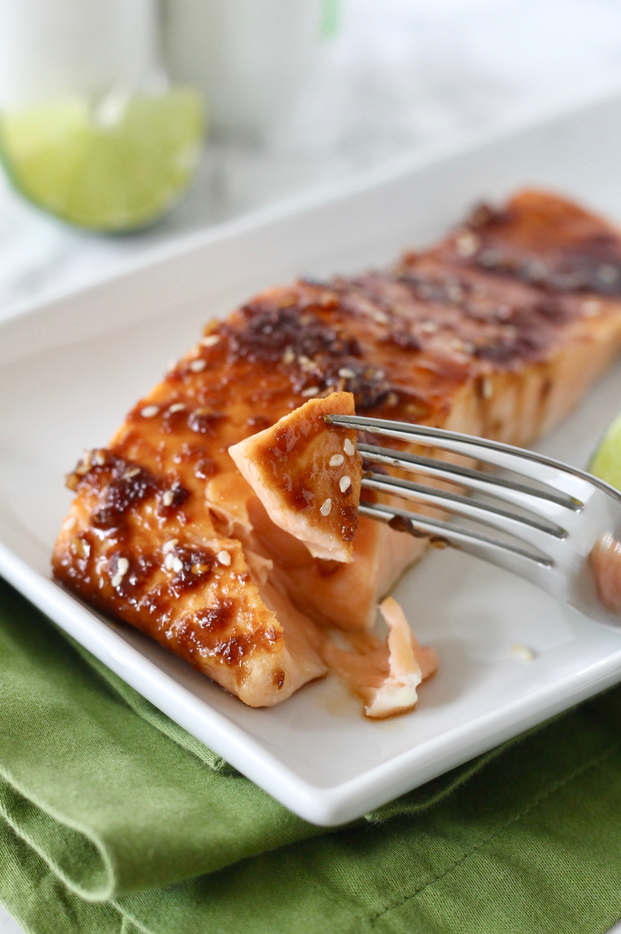 Asian-Glazed Salmon Recipe