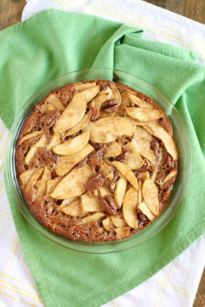 Healthier No Crust Apple Pie