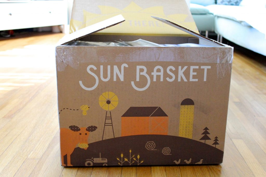 SunBasket Review + Product Giveaway on littlechefbigappetite.com
