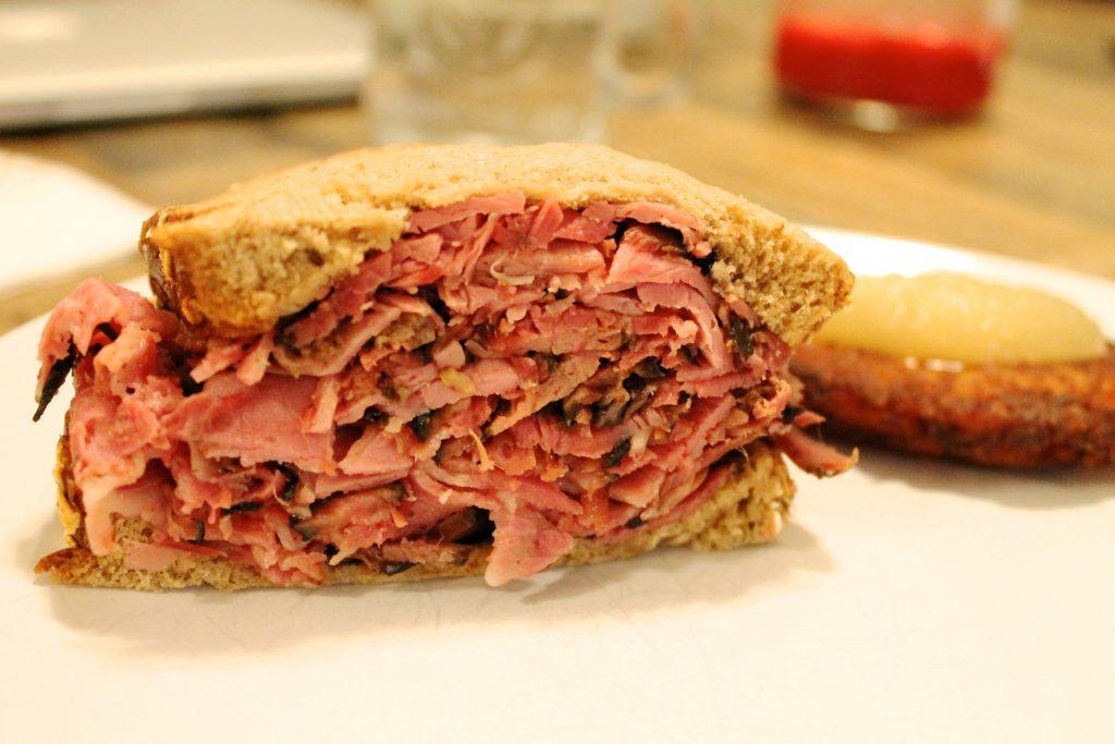 Canter's Deli Pastrami Sandwich