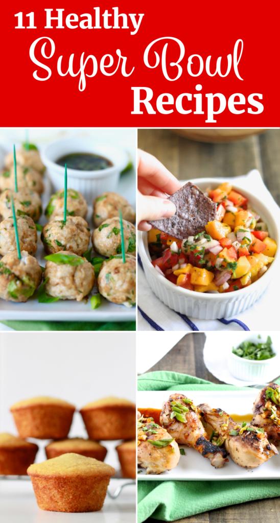 Healthy Super Bowl Recipes | littlechefbigappetite.com