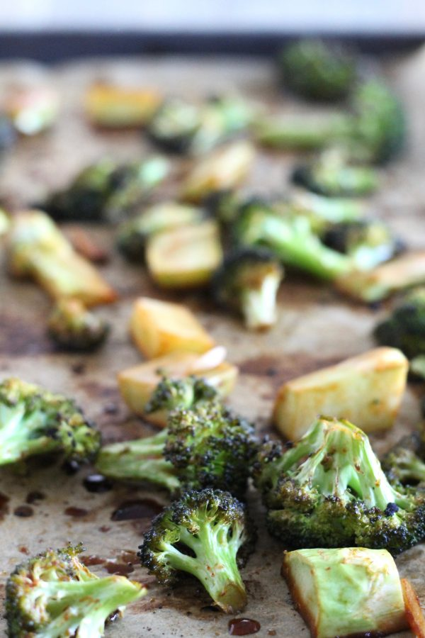Sriracha Roasted Broccoli