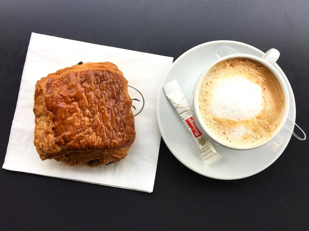 Pain au Chocolat from Eric Kayser: Where to Go and What to Eat in Paris ll www.littlechefbigappetite.com