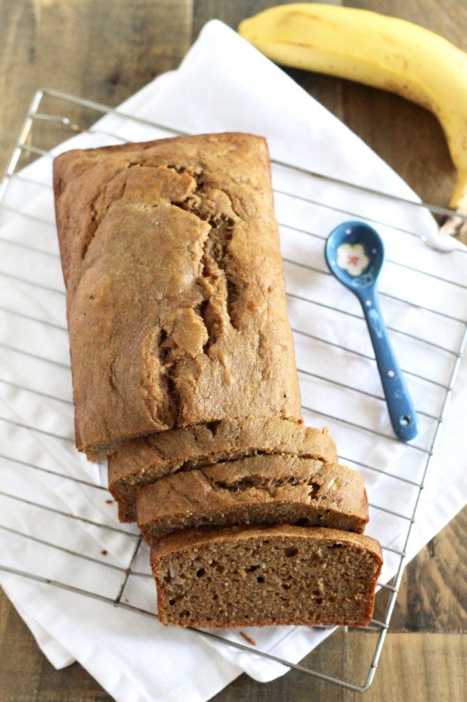 Healthy whole wheat banana bread recipe little chef big appetite healthy whole wheat banana bread recipe littlechefbigappetite 1 forumfinder Images