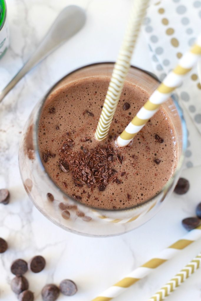 Chocolate Espresso Smoothie Recipe | www.littlechefbigappetite.com 4