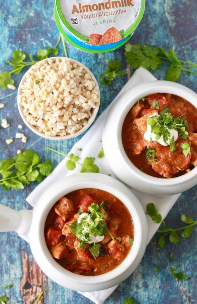 Slow Cooker Chicken Tikka Masala Recipe | www.littlechefbigappetite.com 1