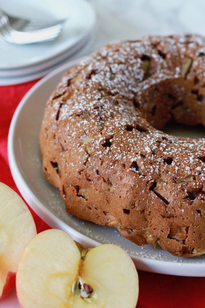 Gluten-Free Apple Honey Cake for Rosh Hashanah   www.littlechefbigappetite.com 3