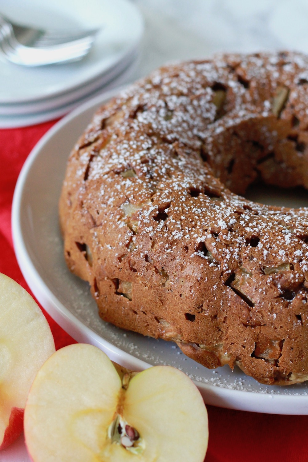 Gluten-Free Apple Honey Cake for Rosh Hashanah | www.littlechefbigappetite.com 3