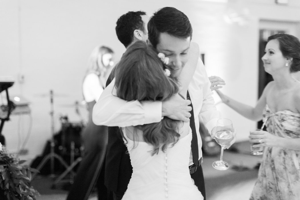 Rachel and David Hugging | www.littlechefbigappetite.com