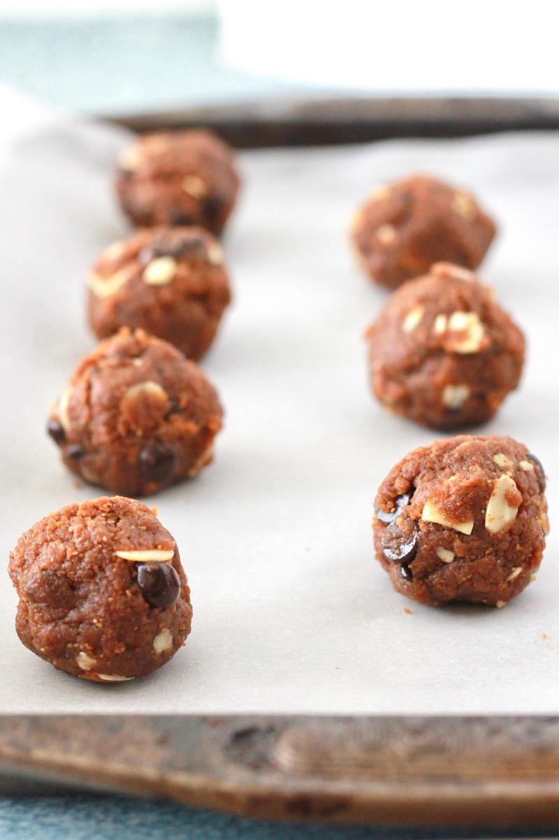 Gluten Free Almond Butter Cookie Dough | littlechefbigappetite.com