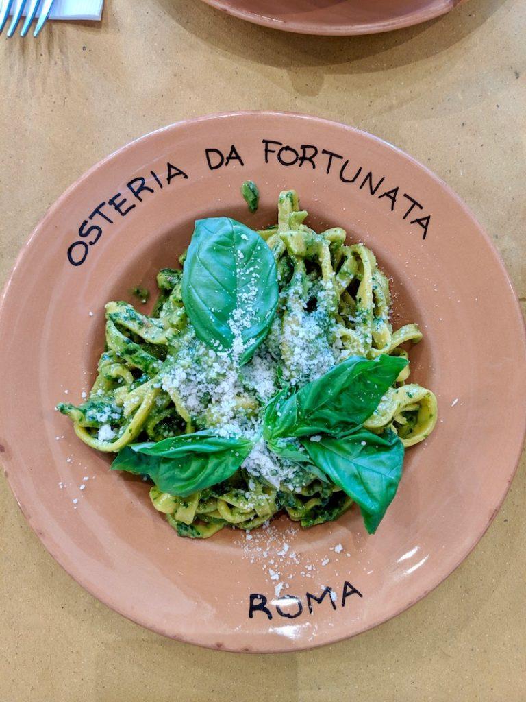 Osteria da Fortunata Rome | littlechefbigappetite.com