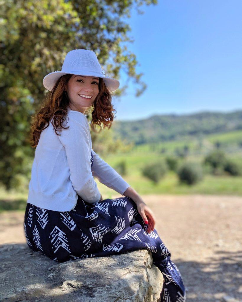 Rachel Wine Tasting in Tuscany | littlechefbigappetite.com