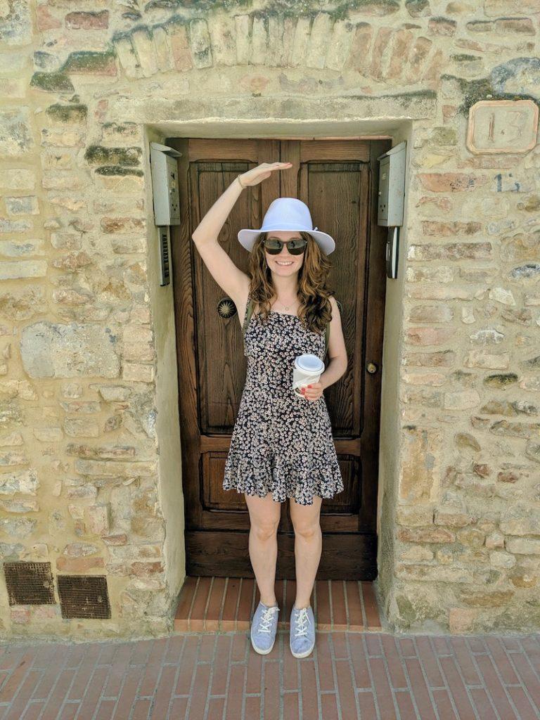 Rachel in San Gimignano 2 | littlechefbigappetite.com