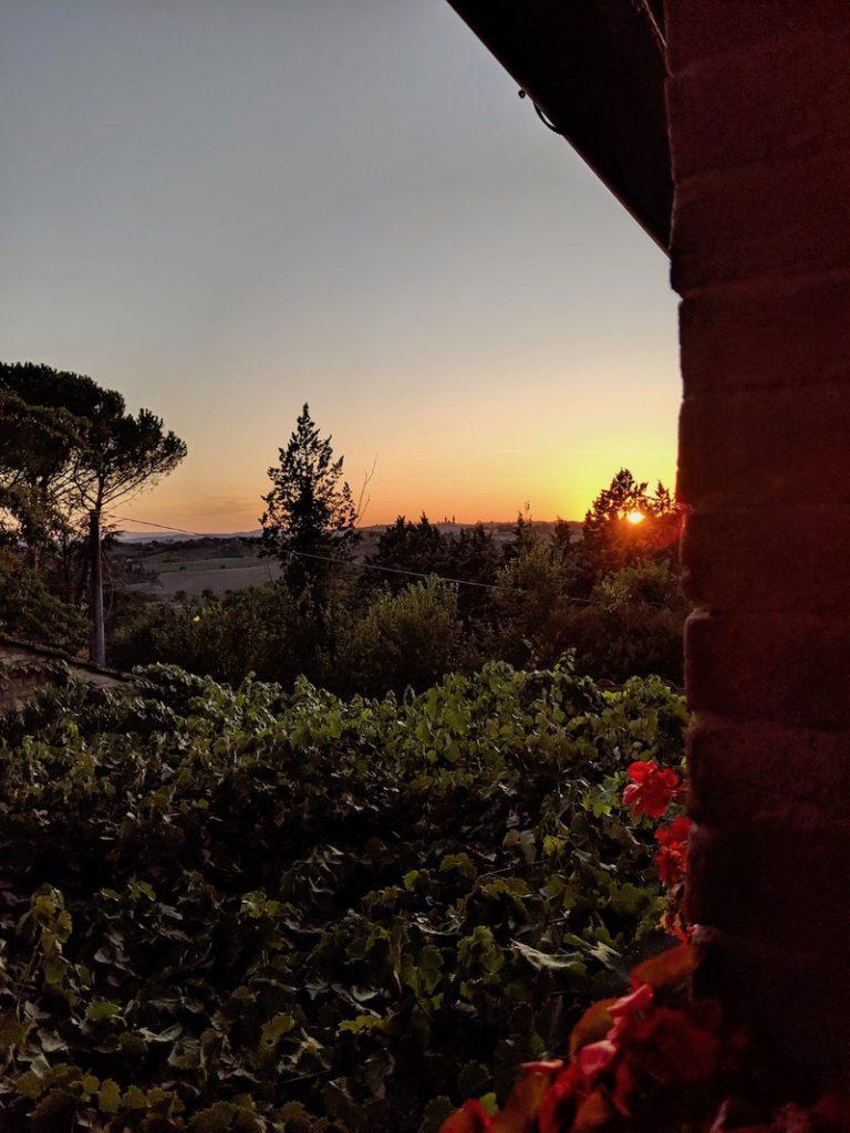 Tuscany Sunset | littlechefbigappetite.com
